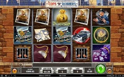 Lue Cops 'n Robbers -pelistä ominaisuudet, mobiili ja suurin voitto täältä!