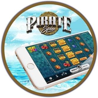 Arvostelussa Pirate Spin -pelisivuston mobiilicasino!