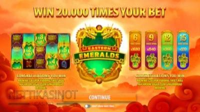 Lue täältä Quickspinin uuden Eastern Emeralds -kolikkopelin ominaisuudet!