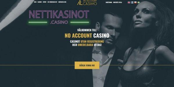 Lue täältä No Account Casinon arvostelu ja muiden pelaajien kokemuksia!