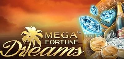 Nappaa Unibetin tervetuliaispaketista Mega Fortune Dreams -pyöräytyksiä!