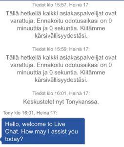 Ahti Games asiakaspalvelu suomi