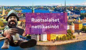 Lähes kaikki suurimmat nettikasinot tulevat Ruotsista