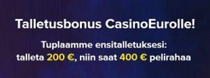 Lunasta Casinoeuron 100% ensitalletusnbonari täältä!