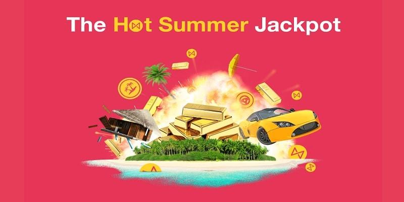 Osallistu Omnia Casinon Summer Jackpot -kisaan ja voita huippupalkintoja!