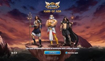 Näe Rise of Olympus -uutuuspelin ominaisuudet täältä!