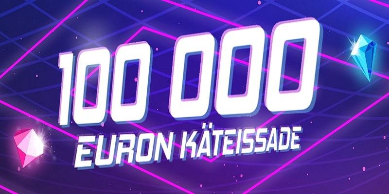 Liity mukaan iGamen 100 000 euron käteissateeseen!