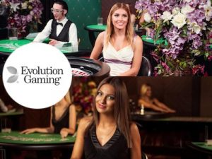 evolution gaming livekasino pelinvalmistaja