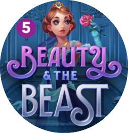 Beauty and the Beast kolikkopeli