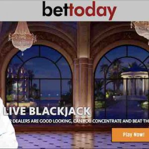 Bettoday livekasino pelit