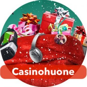 Casinohuoneen joulukalenteri jatkuu vuoden loppuun saakka