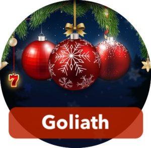 Goliath jakaa pelaajille tuotepalkintoja jouluna.