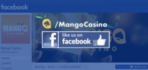 Mango Casinon löydät myös facebookista.