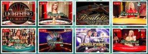 Mango Casino tarjoaa asiakkaille myös live-pöydät