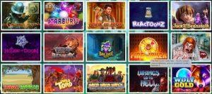Mango Casinolta löytyy 17 eri pelinvalmistajien tuotteita