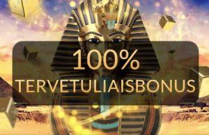 Temple Nile jakaa 1000€ ensitalletusbonuksen.