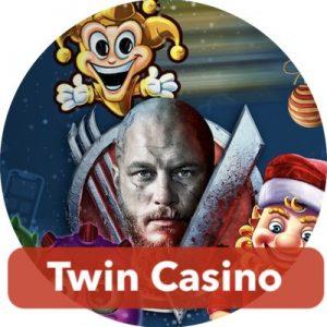 Twin Casinolla jaetaan viikoittain joulutarjouksia.