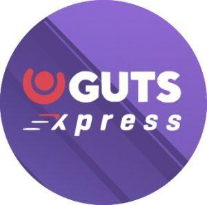Guts Xpressin logossa vauhtia piisaa