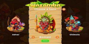 Valitse oma hahmosi Wazamballa