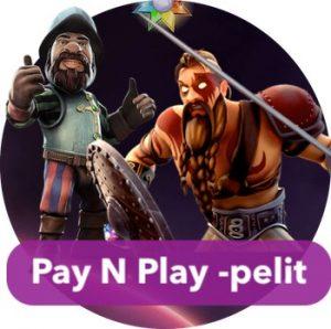 Pay N Play -kasinoilla satoja erilaisia kolikkopelejä
