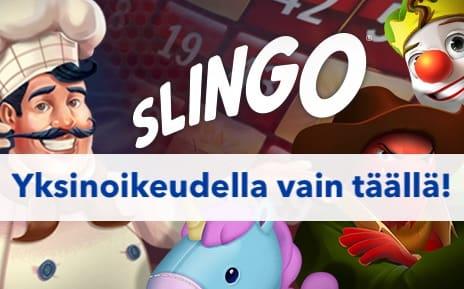 bingo ja pelit yhdistyvät slingossa