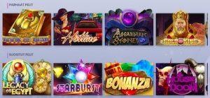 Casiplay Casinolta löydät kaikki suosituimmat kolikkopelit!