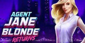 Agent Janne Blonde Returns -kolikkopeli