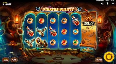 Pirates Plenty on Red Tigerin uutuuspeli, johon saat ilmaiskierroksia Betsfelta!