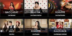 Casino Las Vegasin livekasino