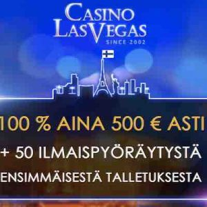 Casino Las Vegasin tervetuliastarjous