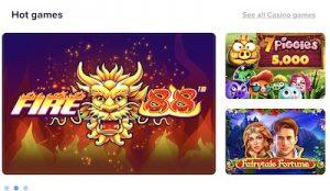LightCasinon kategorioista löydät suosituimmat kolikkopelit
