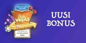 Slotty Vegasin uusittu bonuspaketti