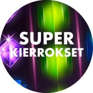 Superkierrosten arvo voi olla jopa 5€ per kiekka.