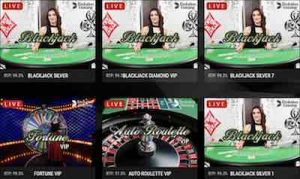 Livepelit Caliber Bingo -kasinolla