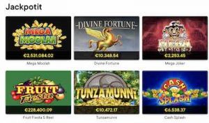 Fortune Legends Jackpot-pelit