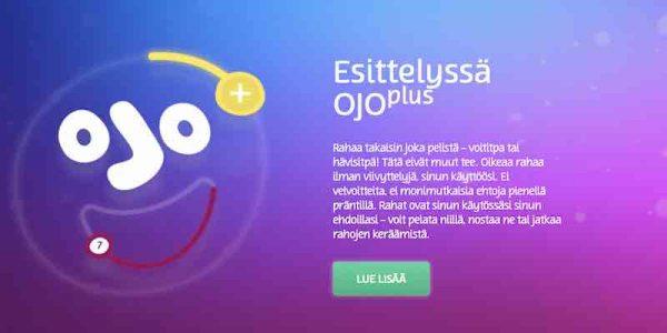 PlayOjo Plus -ominaisuus