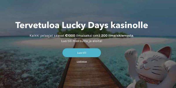 Uusi Lucky Days Casino