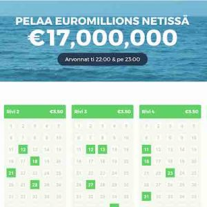 Multilotto Euromillions lotto