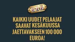 No Account Casino 100 000€ tarjous