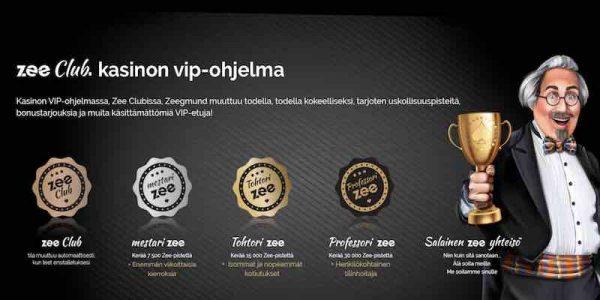 Playzee Casino VIP-pelaajat