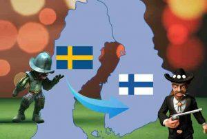 Tilivapaat kasinot Ruotsista Suomeen