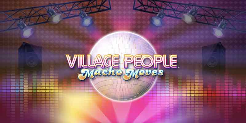 Village People: Macho Moves kolikkopeli