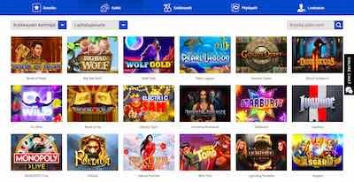 Slottica Casino kaikki pelit