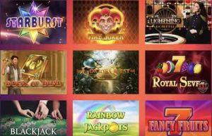 Casino Gods pelivalikoima