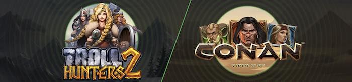 Troll Hunters vs Conan slottihaaste