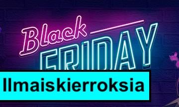 21-comin Black Friday kierrokset