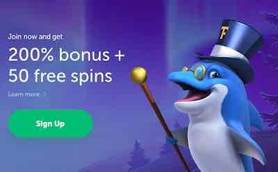 Trueflip Casino bonus ja ilmaiskierroksia