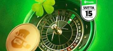 Pyhän Patrikin Päivää juhlitaan Casinoeurolla